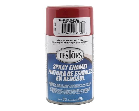 Testors Spray 3 oz Dark Red