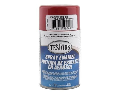 Testors Spray 3 oz Dark Red