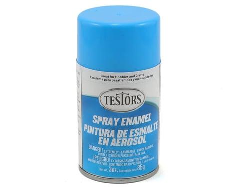 Testors Light Blue Enamel Spray Paint (3oz)