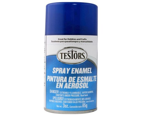 Testors Spray 3 oz Dark Blue