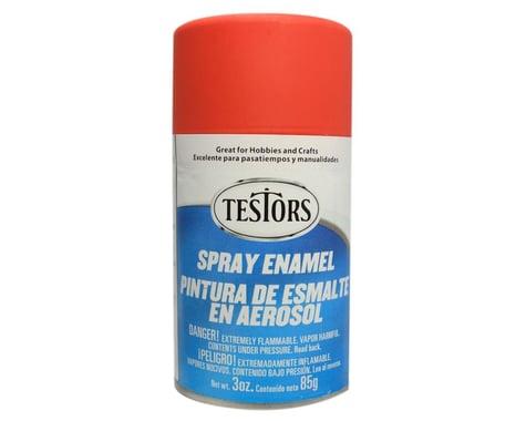 Testors Spray 3 oz Flat Red