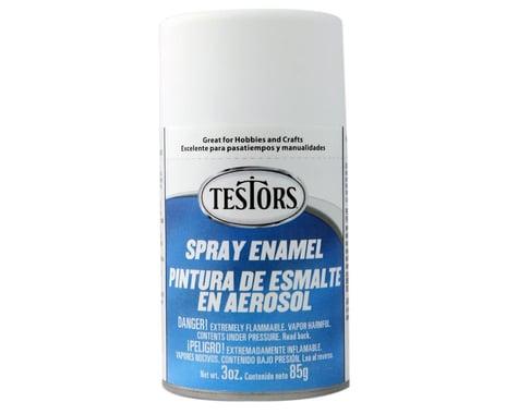 Testors Spray 3 oz Flat White