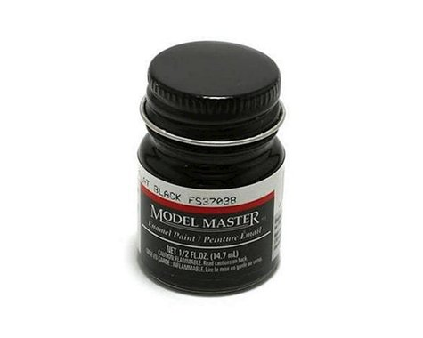 Testors MM FS37038 1/2oz Flat Black