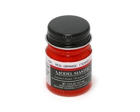 Testors MMII FS28913 1/2oz Fluor Red-O