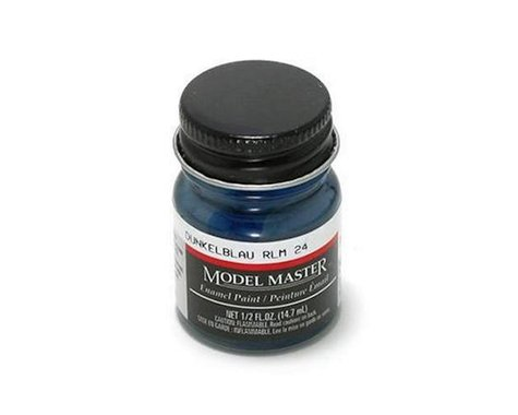 Testors MMII RLM24 1/2oz Dark Blue