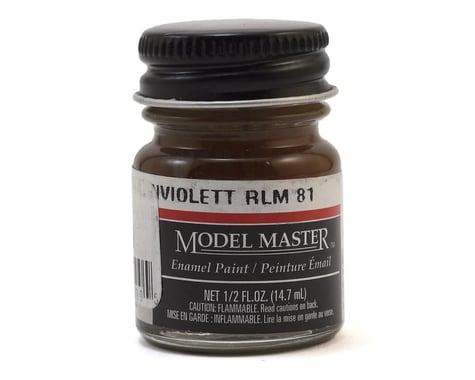 Testors Model Master RLM81 Brown Violet Enamel Paint (1/2oz)