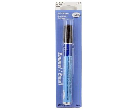 Testors Gloss Enamel Paint Marker (Dark Blue) (10ml)