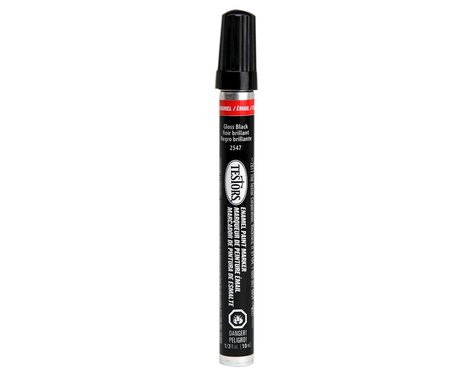Testors 1/3oz. Tube Enamel Paint Marker Gloss Black