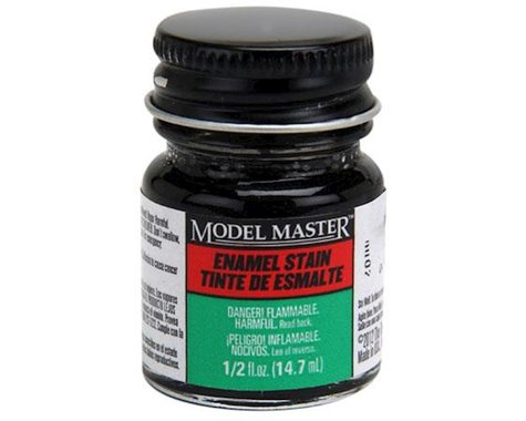 Testors MM 1/2oz Black Detail Stain