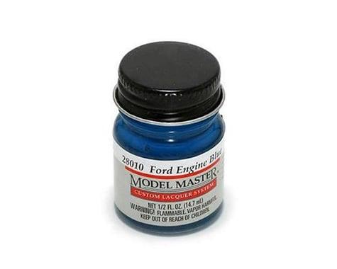 Testors Ford/GM Engine Blue, 1/2oz Bott