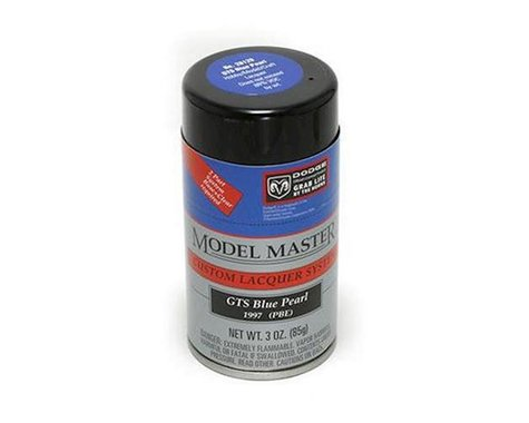 Testors GTS Blue Pearl, 3oz Spray