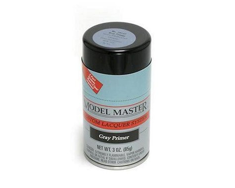 Testors Gray Primer, 3oz Spray