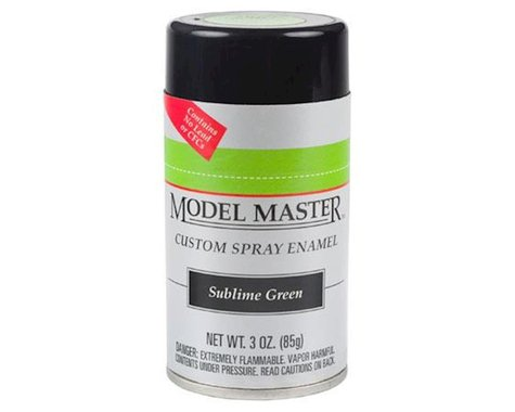 Testors MM Car Spray Sublime Green