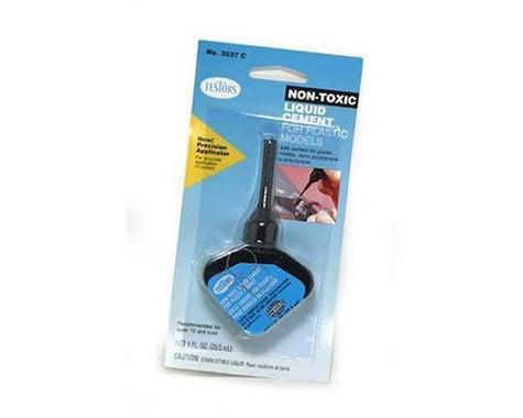 Testors Non-Toxic Cement w/Applicator (1oz)