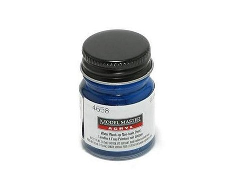 Testors Acryl Gloss 1/2oz Clear Blue