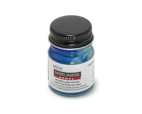 Testors Acryl Gloss 1/2oz French Blue