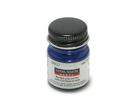 Testors Acryl Gloss 1/2oz Arctic Blue
