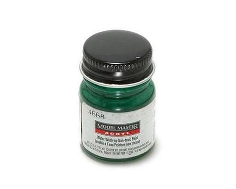 Testors Acryl Gloss 1/2oz Clear Green