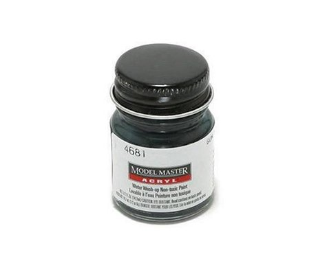 Testors Acryl Semi-Gloss 1/2oz Gun Met