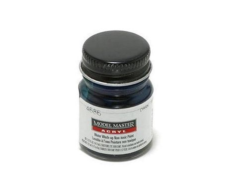 Testors Acryl Gloss 1/2oz Dark Sea Blu