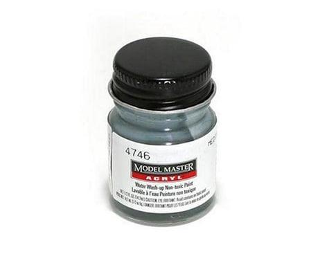 Testors Acryl Flat 1/2oz Medium Gray