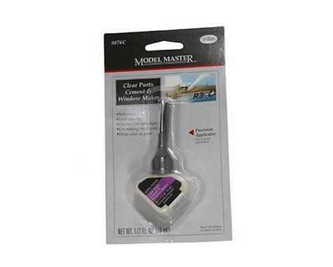 Testors Model Master Clear Parts Cement Window Maker (1/2oz)