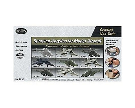 Aircraft Spray Acrylic Set