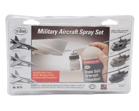 Testors Military Aircraft Spray Set
