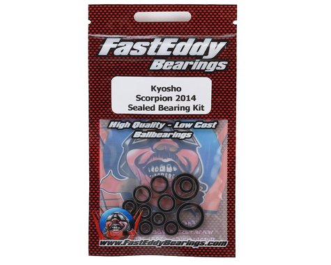 FastEddy Kyosho Scorpion 2014 Sealed Bearing Kit