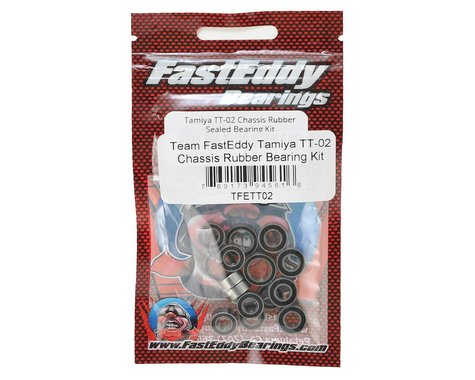 FastEddy Tamiya TT-02 Chassis Rubber Bearing Kit