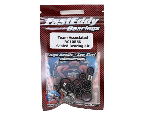 FastEddy Associated RC10 B6D Sealed Bearing Kit