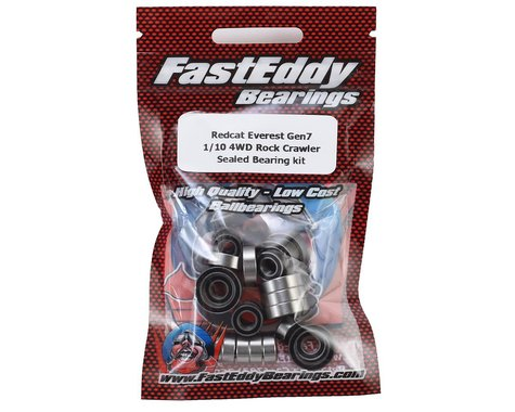 FastEddy Redcat Everest Gen7 1/10 4WD Rock Crawler Sealed Bearing kit