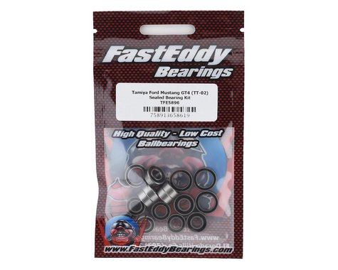 FastEddy Tamiya Ford Mustang GT4 Sealed Bearing Kit (TT-02)