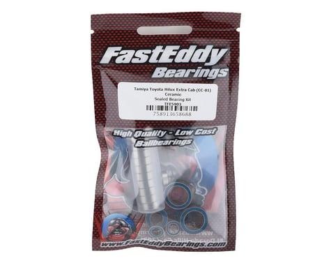 FastEddy Tamiya Toyota Hilux Extra Cab Ceramic Rubber Sealed Bearing Kit (CC-01)