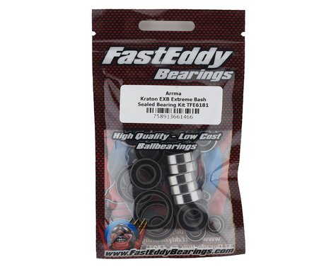 FastEddy Arrma Kraton EXB Extreme Bash Sealed Bearing Kit