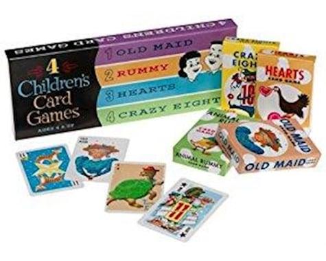 Thinkfun Think Fun 30080 ThinkFun 4 Children's Card Games