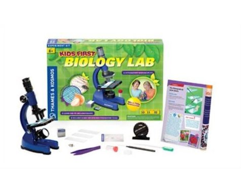 Thames & Kosmos Kids First Biology Lab Experiment Kit