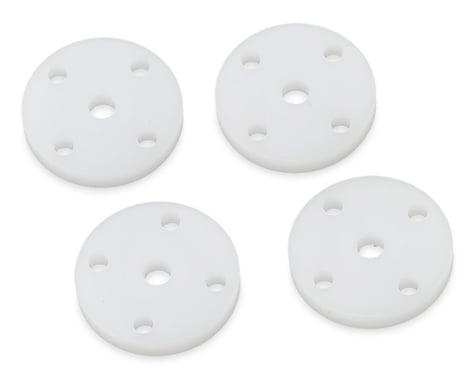 Tekno RC CNC Flat/Flat Shock Pistons (4) (4x1.9mm)