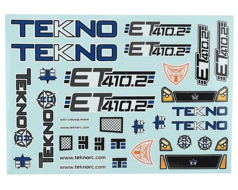 Tekno RC ET410.2 Decal Sheet
