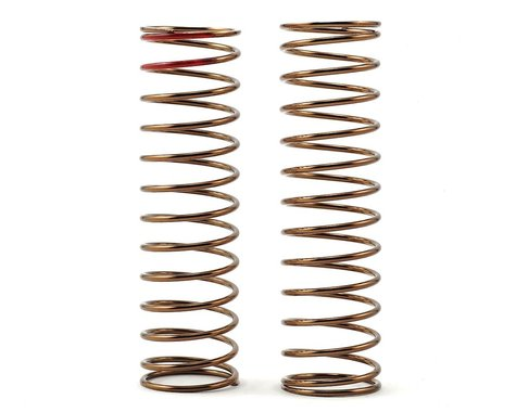 Tekno RC Low Frequency 85mm Rear Shock Spring Set (Red - 2.94lb/in)