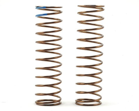 Tekno RC Low Frequency 85mm Rear Shock Spring Set (Blue - 3.13lb/in)