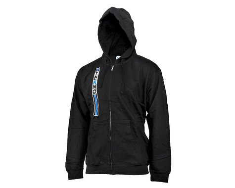 """Tekno RC Vertical """"Stripe"""" Hoodie (Black) (XL)"""