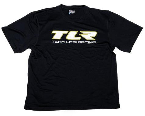 "Team Losi Racing ""TLR"" Moisture Wicking Shirt (Black) (L)"