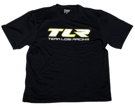"Team Losi Racing ""TLR"" Moisture Wicking Shirt (Black) (2XL)"