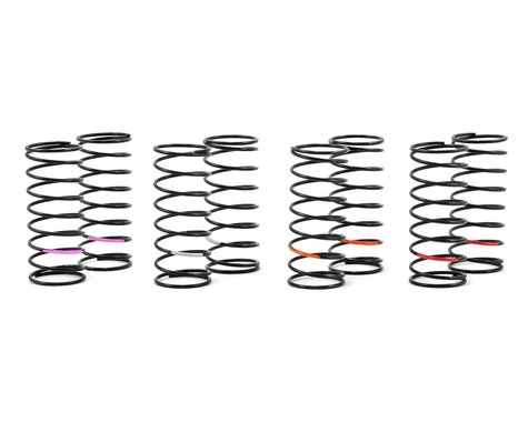 """Team Losi Racing """"Low Frequency"""" Front Spring Set (4 pair)"""