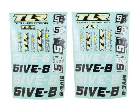 Team Losi Racing 5IVE-B Sticker Sheet Set