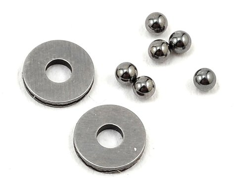 Team Losi Racing 2mm Tungsten Carbide Thrust Ball Set (6)