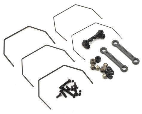 Team Losi Racing 22 4.0 Laydown Rear Sway Bar Set