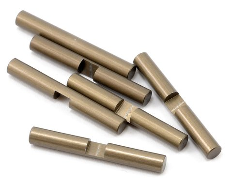 Team Losi Racing Aluminum Differential Shaft Set (6)