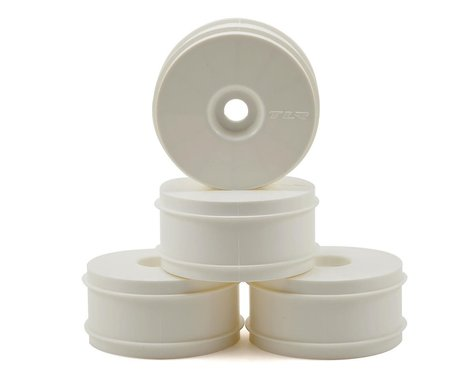 "Team Losi Racing ""Dome"" 1/8 Buggy Dish Wheel (4) (White)"